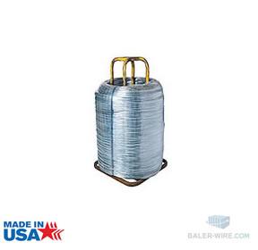 13 gauge 2-Ram Premium Galvanized Hi-Tensile Baler Wire