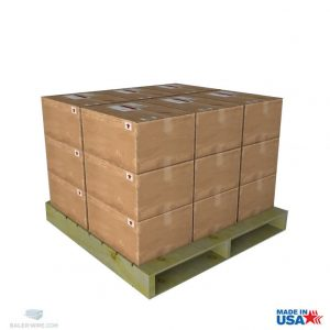 Boxed wire 10 gauge galvanized 50# boxes